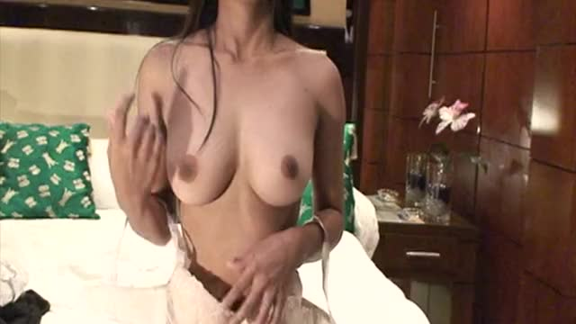 18 year old Filipina girl on webcam with big tits
